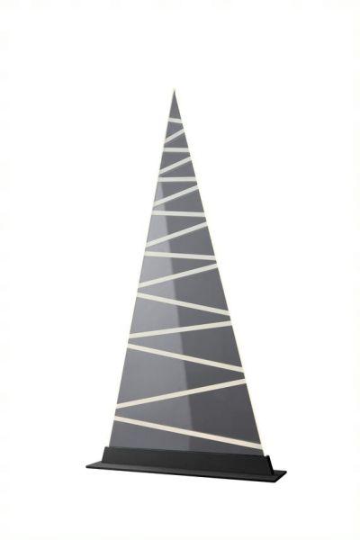 Sompex Tischleuchte FIR - Streifen - metall schwarz