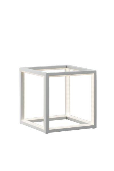 Sompex LED Tischleuchte Delux in Würfelform - verschiedene Größen - weiß