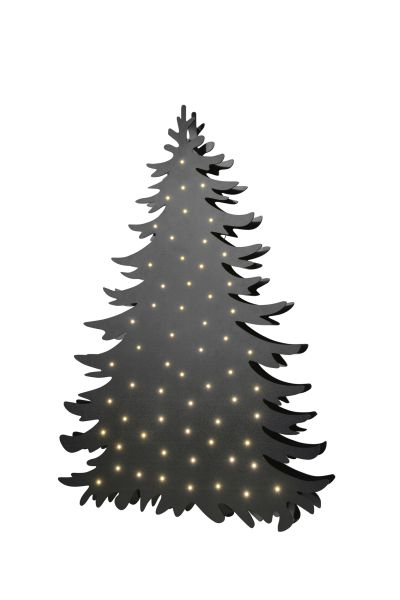 Sompex Christmastree with LED Lighting - black-