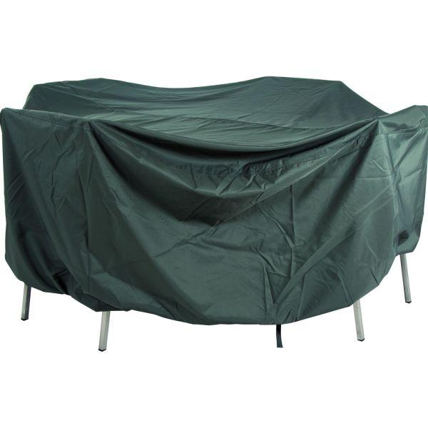 Stern Schutzhülle für Sitzgruppe 250x150x90cm mit Binde- bändern und Klettverschluss 100% Polyester grau