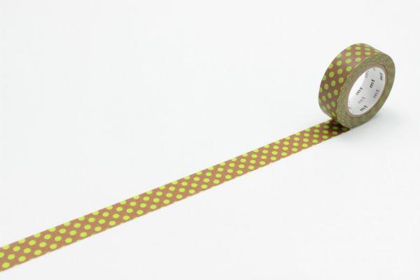 Masking-Tape single, dot kiwi