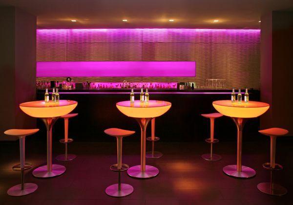 Moree Lounge Table LED Pro Accu 105