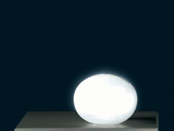 SOMPEX Tischleuchte Glas Oval mini