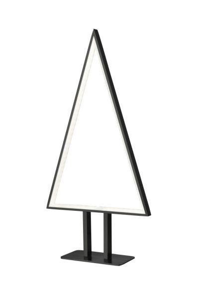 Sompex Designleuchte / LED Weihnachtsbaum Tischleuchte Pine, schwarz, Höhe 50cm