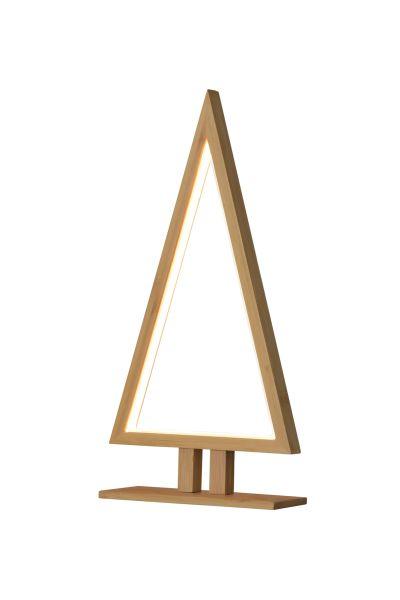 Sompex Designleuchte / LED Weihnachtsbaum Stehleuchte Pine, Bambus, Höhe 38cm