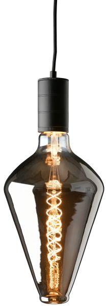LED Leuchtmittel XXL Vienna Titanium, 6W, 2200K, 200lm, H39 cm