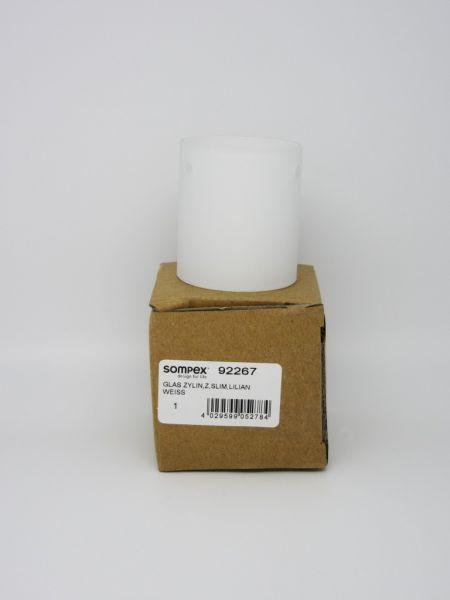 Ersatzteil Schirm/Glas zu Sompex Steh-/ Tischleuchte Slim Zylinder 92263,92275, 92273,92463 u. Luxe 92473 u. Lilian 92230
