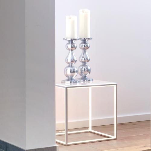 Sompex Tisch Delux mit Glasplatte