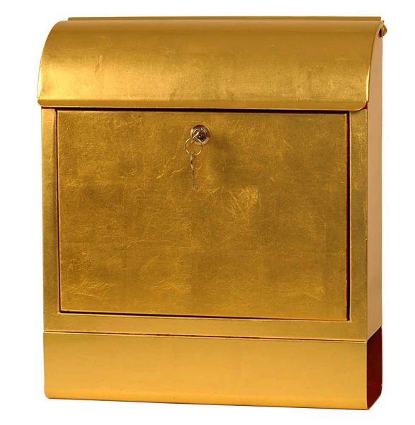 Briefkasten Gold