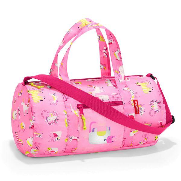 reisenthel mini maxi dufflebag S kids abc friends pink