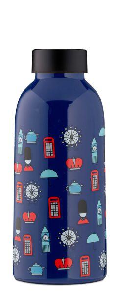 MamaWata Edelstahl Trinkflasche LONDON