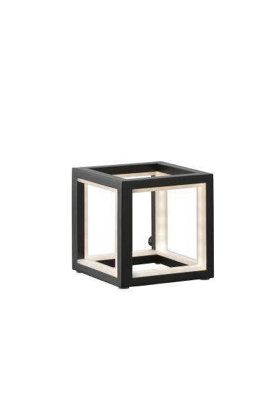 Sompex LED Tischleuchte Delux in Würfelform - in verschiedenen Größen - schwarz