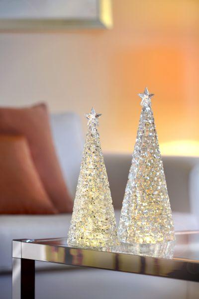 Sompex Weihnachtsbaum Tischleuchte Glamor | Batteriebetrieben | 33cm