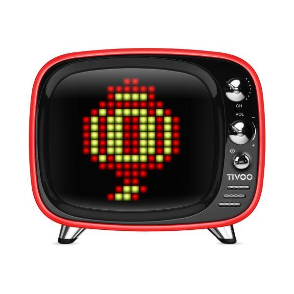 Divoom TIVOO Bluetooth v5.0 Lautsprecher mit Smart Pixel Art Display