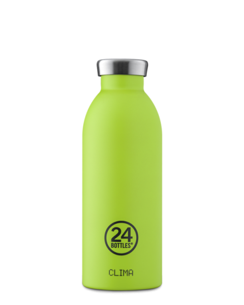 24Bottles - Trinkflasche / CLIMA CHROMATIC collection LIME GREEN