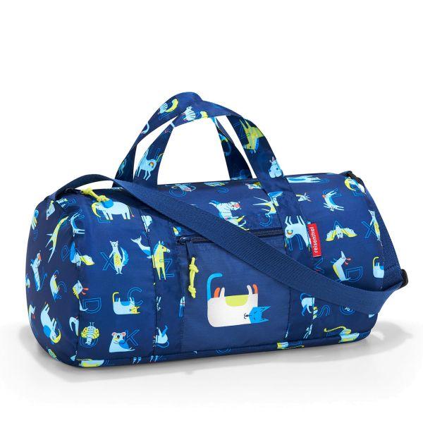 reisenthel mini maxi dufflebag S kids abc friends blue