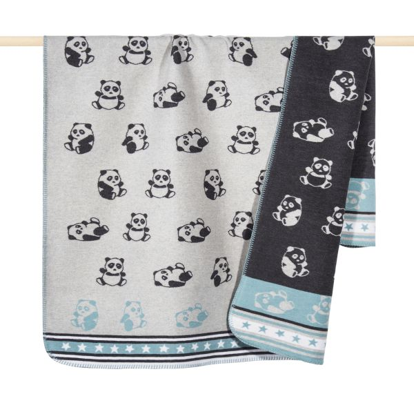 PAD PANDA Decke aqua - in verschiedenen Größen