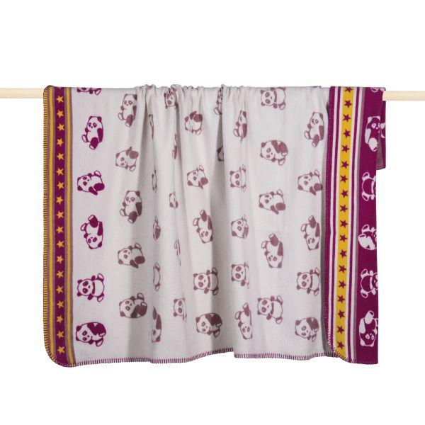 PAD PANDA Decke pink - in verschiedenen Größen