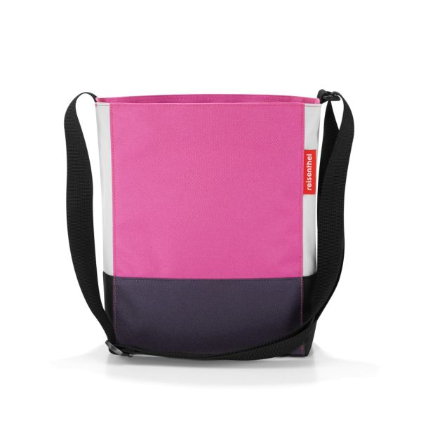 reisenthel shoulderbag S patchwork magenta