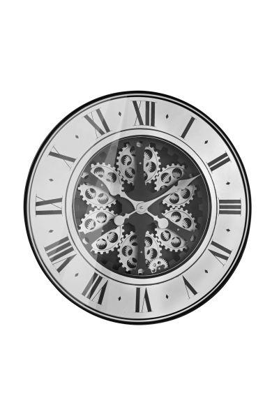 Sompex Clocks Zahnraduhr Aberdeen silber