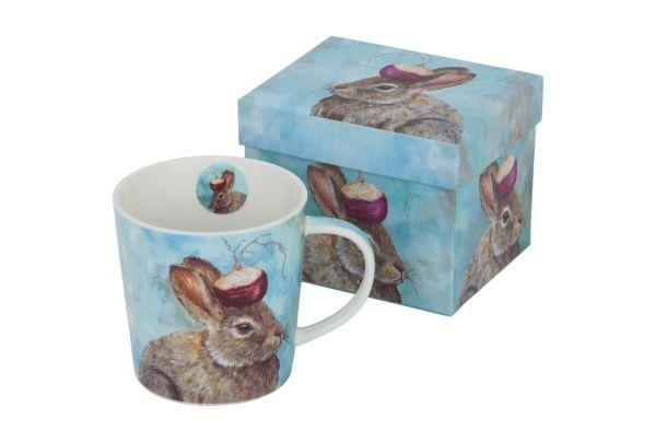 PPD Turnip Guardian Hase Tasse/ Kaffeebecher mit passender rechteckiger Geschenkdose