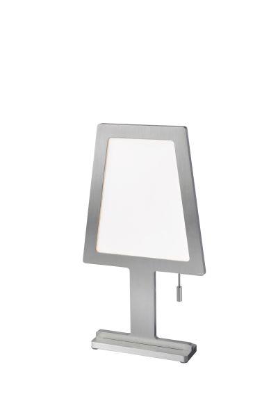 Sompex Tischleuchte Steve Aluminium