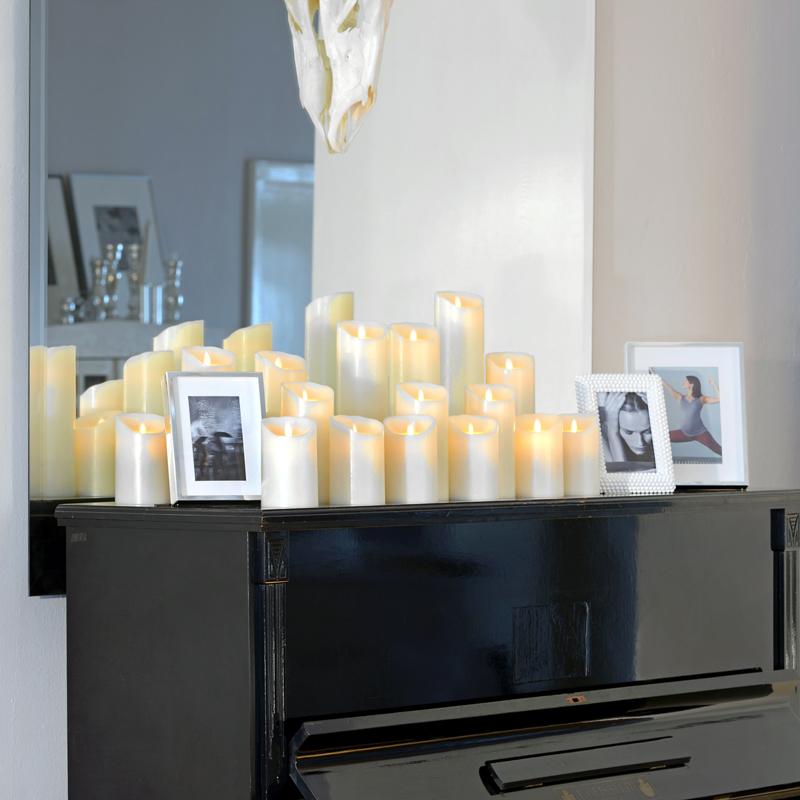 led kerzen sompex shop. Black Bedroom Furniture Sets. Home Design Ideas