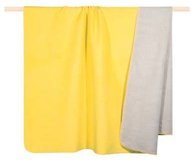 PAD Wolldecke HOBART - 100 x 150cm - yellow