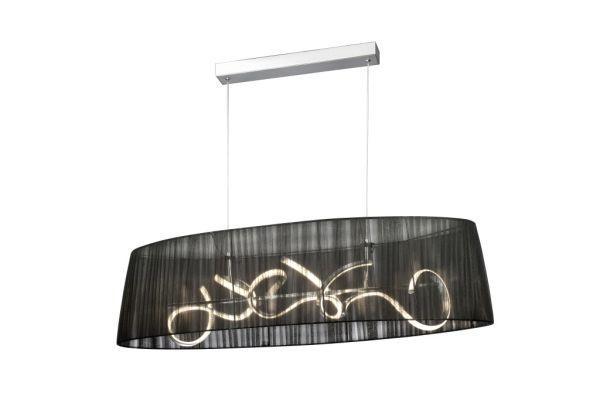Sompex Pendelleuchte Organza LED Oval