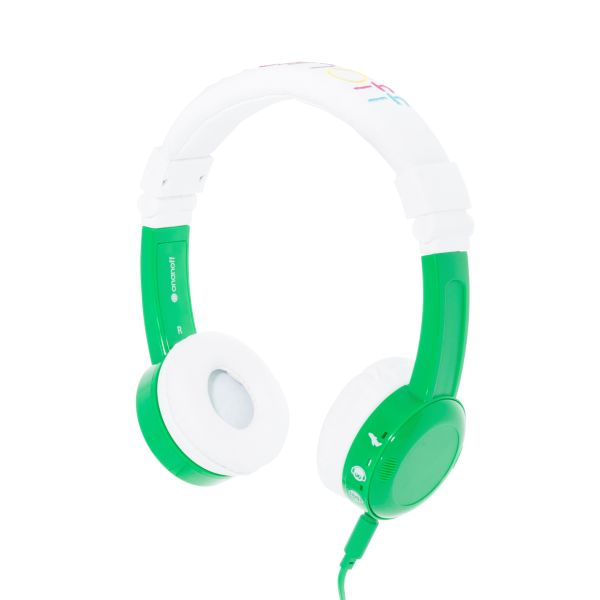BuddyPhones Kinderkopfhörer - Inflight - Grün