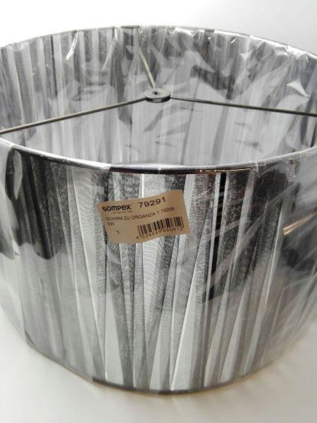 Ersatzteil Schirm/Glas zu Tischleuchte Organza schwarz 79295