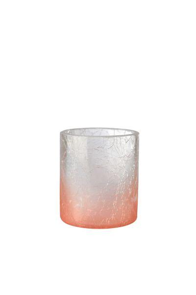 Sompex Awhia Krakelee  Teelichthalter - in verschiedenen Farben und Größen
