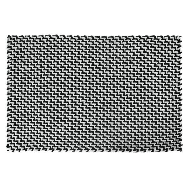 Pad Fußmatte POOL | Wetterfest, Innen- & Außen black white | Verschiedene Größen