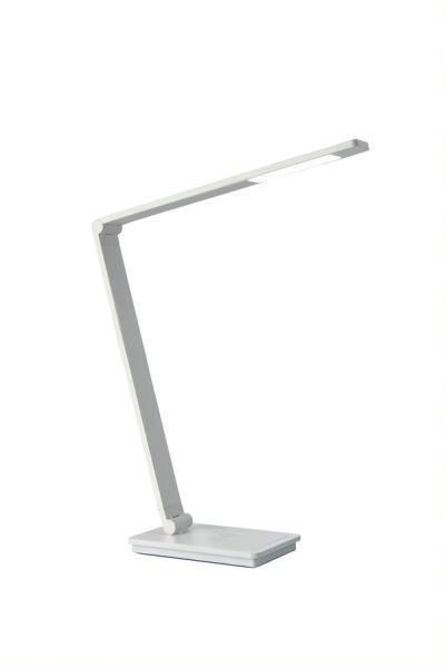 LED Tischleuchte ULI Phone | mit kabelloser Ladestation | QI Wireless Charger | Nachttischlampe