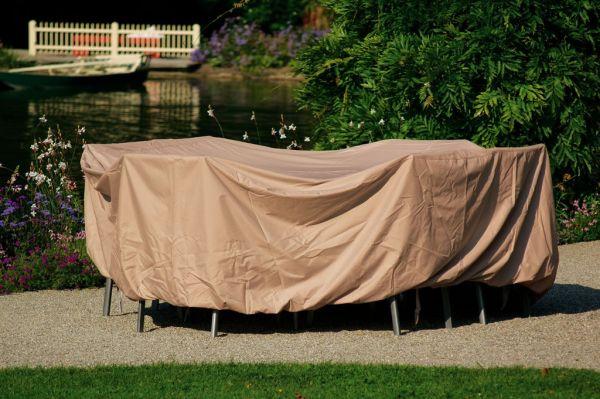 Stern Schutzhülle für Sitzgruppe oval 220x320x90 cm
