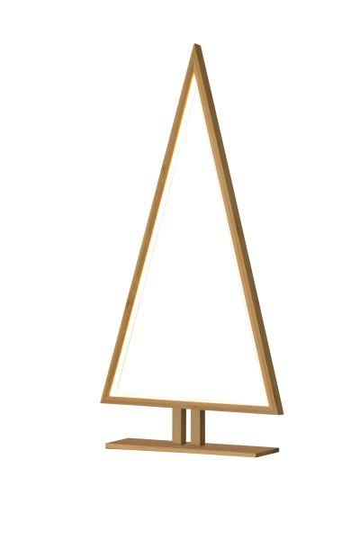 Sompex Designleuchte / LED Weihnachtsbaum Stehleuchte Pine, Bambus, Höhe 70cm