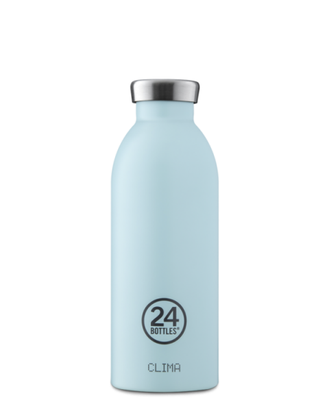 24Bottles - Trinkflasche / CLIMA pastel collection CLOUD BLUE