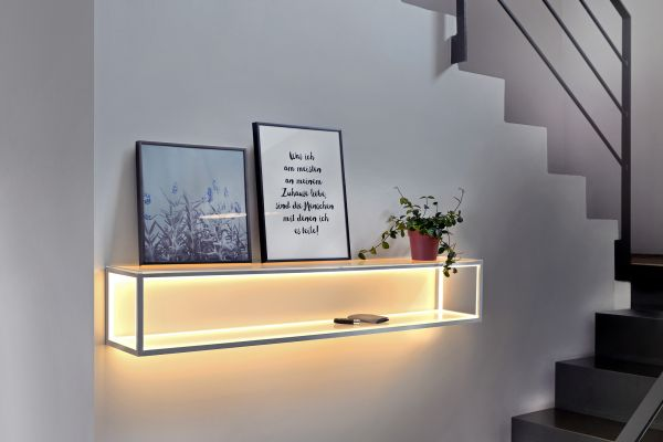 Sompex LED Ablage / Wandleuchte Delux