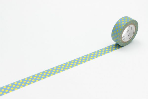 Masking-Tape single, dot aqua