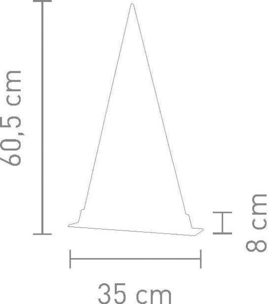Sompex Tischleuchte FIR - Wald - in verschiedenen Größen - metall schwarz