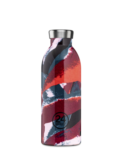 24Bottles - Trinkflasche / CLIMA BOTANIQUE collection FLOWER FLAME