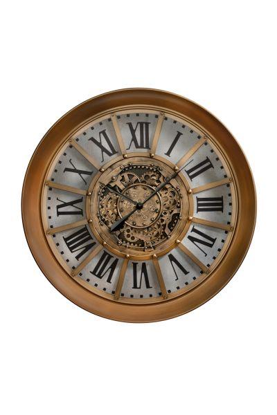 Sompex Clocks Sunderland Zahnraduhr kupfer